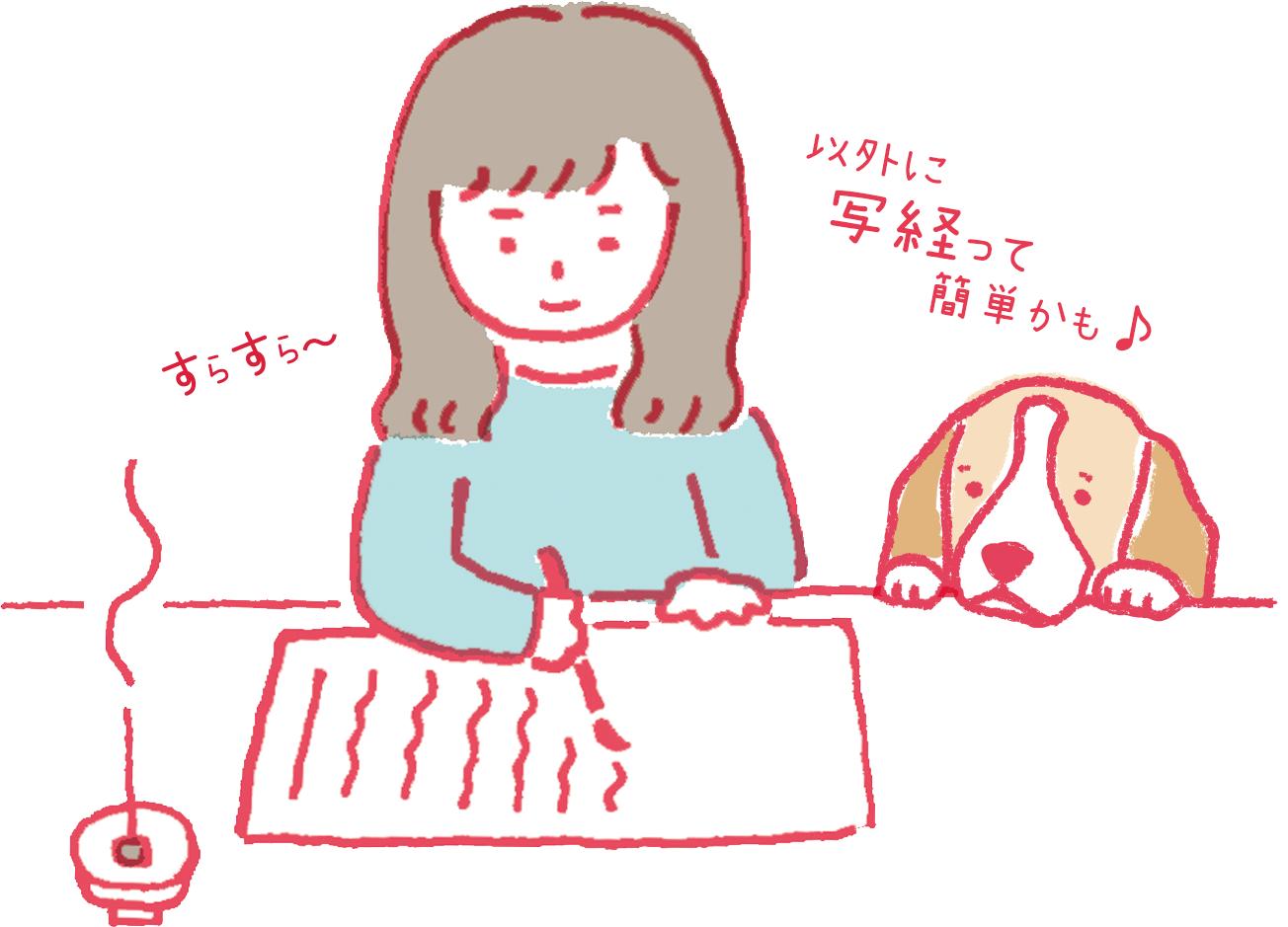 写経特集ページ